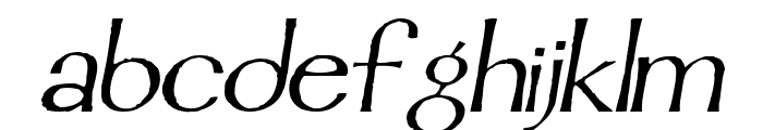 Mordred Italic Font LOWERCASE
