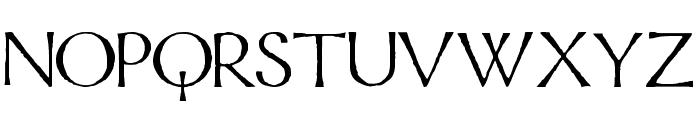 Mordred Font UPPERCASE