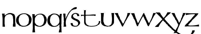 Mordred Font LOWERCASE