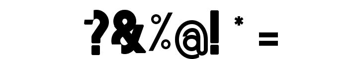 Mordu Regular Font OTHER CHARS