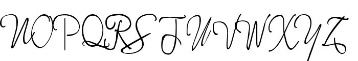 More Enchanted Prairie Dog Font UPPERCASE