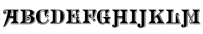 Morgan TwentyNine Font UPPERCASE