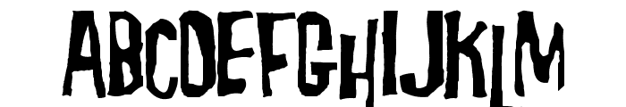 Morgus the Magnificent Font UPPERCASE
