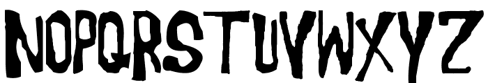 Morgus the Magnificent Font LOWERCASE