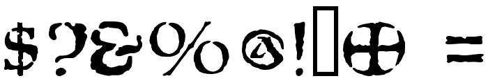 Moria Citadel Font OTHER CHARS