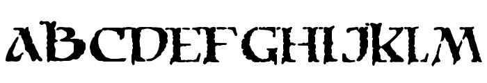 Moria Citadel Font UPPERCASE