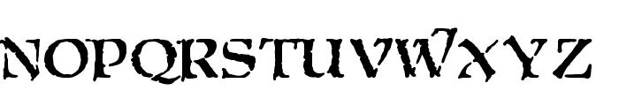 Moria Citadel Font LOWERCASE