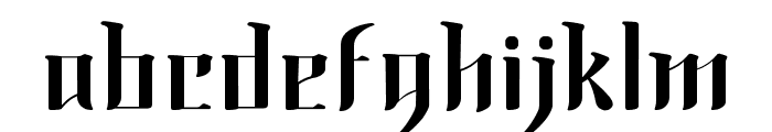 Morning Calm Font LOWERCASE