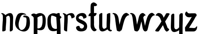 MoroSeneng Font LOWERCASE