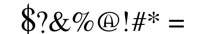 Morpheus Regular Font OTHER CHARS