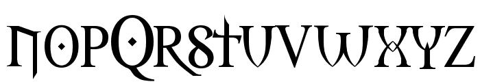 Morpheus Regular Font LOWERCASE