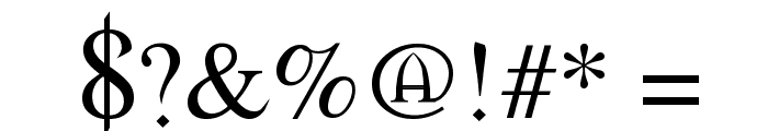 Morpheus Font OTHER CHARS