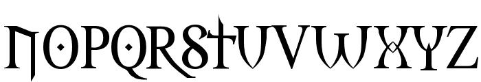 Morpheus Font LOWERCASE