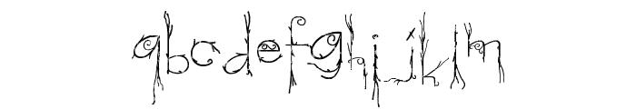Morphina Font LOWERCASE