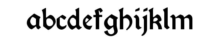 Morris Roman Alternate Black Font LOWERCASE