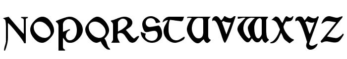 Morris Roman Black Font UPPERCASE