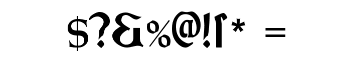MorrisRoman-Black Font OTHER CHARS