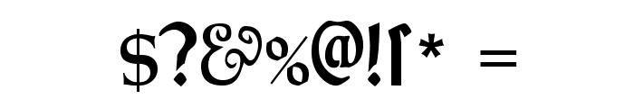 MorrisRomanAlternate-Black Font OTHER CHARS