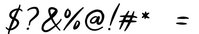 Morsal Font OTHER CHARS