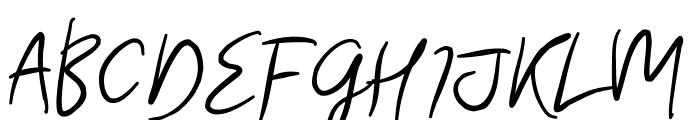 Morsal Font UPPERCASE