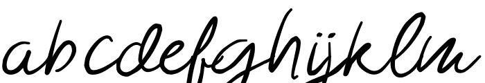 Morsal Font LOWERCASE