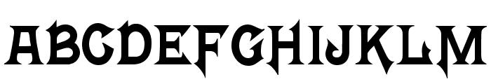Mortal Kombat 4 Font UPPERCASE