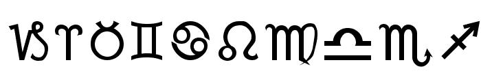 Mortbats Font OTHER CHARS