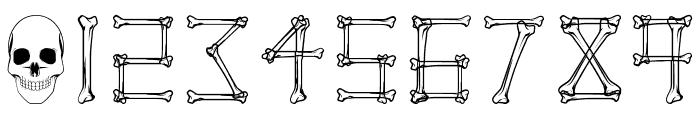 Mortem Regular Font OTHER CHARS