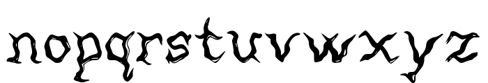 Mortified Font LOWERCASE