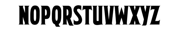 Mortuary BB Font LOWERCASE