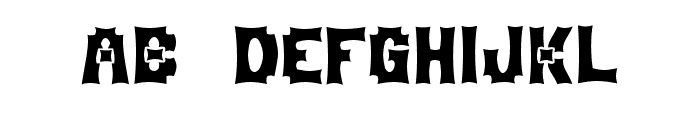 MortumHead Ghomout Font LOWERCASE