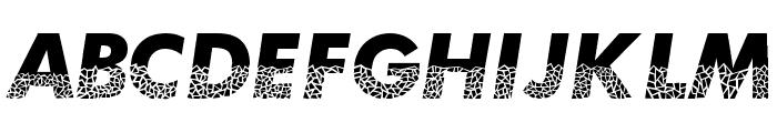MosaicCaps Font UPPERCASE