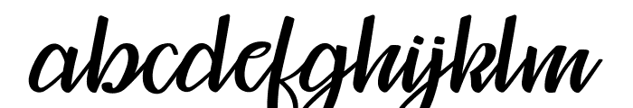 Mosgrade Personal Use Font LOWERCASE