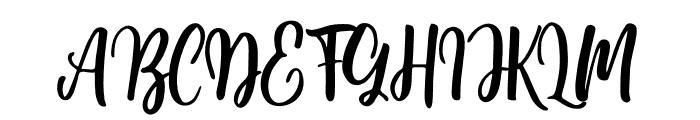 Moshinta Font UPPERCASE