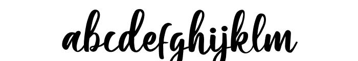 Moshinta Font LOWERCASE
