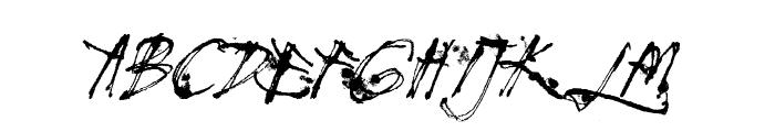 Mosquito Italic Font UPPERCASE