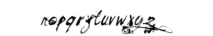 Mosquito Italic Font LOWERCASE