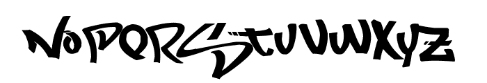Most Wazted Font UPPERCASE