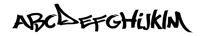 Most Wazted Font LOWERCASE