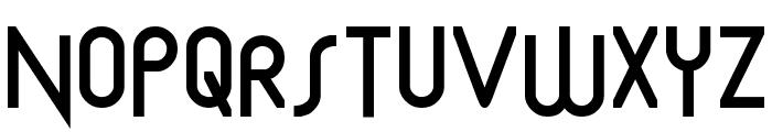 Mostios Font UPPERCASE