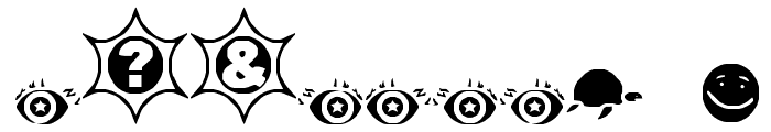 Mosuna Extras Font OTHER CHARS