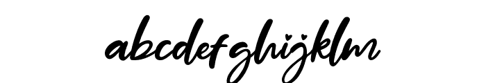 Mother Day Font LOWERCASE