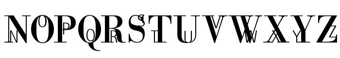 MotherAndChild Font UPPERCASE