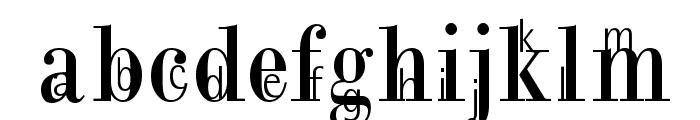 MotherAndChild Font LOWERCASE