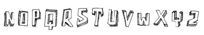 Motherfunker Font UPPERCASE