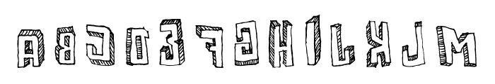 Motherfunker Font LOWERCASE
