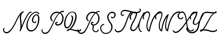 MotherlineDEMO Font UPPERCASE