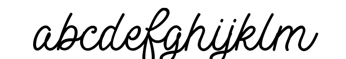 MotherlineDEMO Font LOWERCASE