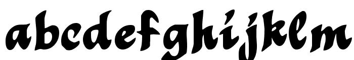 MothproofScript Font LOWERCASE