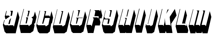 Motorcade-Regular Font LOWERCASE